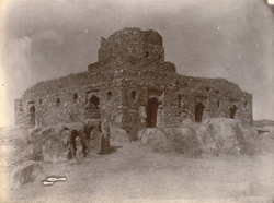 Ruined building, probably a fort or castle, Chakri, Jhansi District